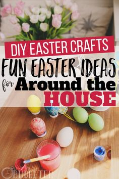 This list of easy and CHEAP DIY Easter crafts is so great! So many fun and creative ideas I never would've thought of and they're all so affordable! I am definitely going to be saving this post so I can make a few of these awesome Easter crafts for my home. Thanks for pulling this together!