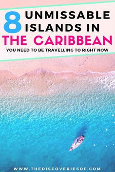 8 amazing Caribbean islands for the ultimate beach vacation. Travel to the Caribbean in style for incredible beaches, culture (and a party or two). Barbados, Jamaica, Turks and Caicos, Antigua + more - this is our Caribbean hotlist. Read now. #travel #caribbean #beaches