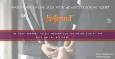 New Trendy advanced featured  scripts for your Customer Need Online Tailor Store
