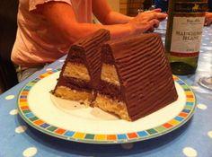 Battenburg cake Irish style. Apparently this is what Thompson & Son ...