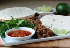 Tequila-Lime Shredded Beef.