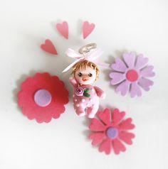 Ciondolo Baby Girl 01 Fimo
