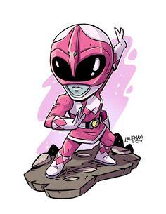 Chibi Pink Ranger  Derek Laufman