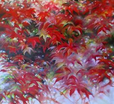 """'Light through Maples' 30""""x30"""" oil on canvas (commission, 2013)  #art #painting"""