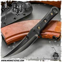 Microtech Custom: Borka Blades SBK Assassin - DLC w/Carbon Fiber