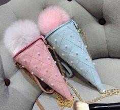 www.sanrense.com - Kawaii ice cream cone bag SE8254