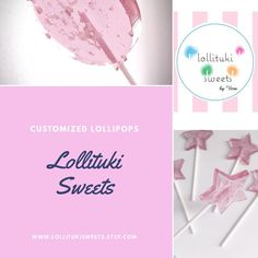 "2 Likes, 1 Comments - Lollituki Sweets (@lollitukisweets) on Instagram: ""🎉Ready to order or recommend our lollipops to your next event🎉 #lolllitukisweets #lollipops…"""