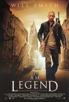 I Am Legend (2007) Will Smith (number one!!!!!) , Alice Braga.  When a terrible virus spreads across the planet and turns the human race into bloodthirsty mutants, civilization's last hope for survival lies with scientist Robert Neville, the only person unaffected by the epidemic...17