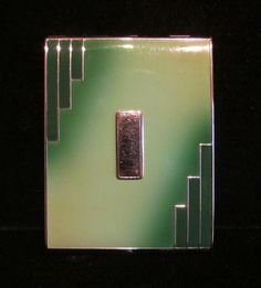 Art Deco Cigarette Case, 1930s