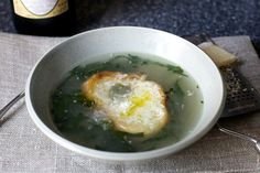 parmesan broth with kale and white beans   Smitten Kitchen