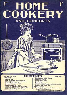 Home Cookery & Comfort Cookbook Pdf, Online Cookbook, Cookbook Recipes, Cooking Recipes, Retro Recipes, Old Recipes, Vintage Recipes, Recipies, Grandma Cooking