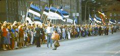 balti kett (baltic way) Estonia, 1989