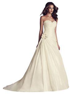 Silk Dupioni Gown by Paloma Blanca Hudson Bay, One Shoulder Wedding Dress, Marie, Wedding Gowns, Silk, Bridal, Inspiration, Wedding Stuff, Fashion