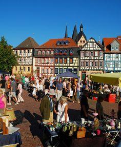 Markt in Gelnhausen