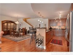 Beautiful great room with kitchen, dining room and living room --- 509 S 10th Street, Minneapolis, MN 55404
