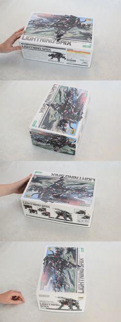Other Models and Kits 774: Kotobukiya Zoids Hmm Lightning Saix 020 1 72 Scale Full Action Model Kit Ez-035 -> BUY IT NOW ONLY: $58 on eBay!