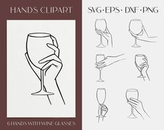 Drawing Templates, Stencil Templates, Mother Daughter Tattoos, Tattoos For Daughters, Drawing Reference, Line Drawing, Wine Glass Drawing, White Wine, Red Wine