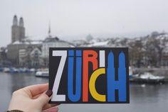 City-guide, Zurich, Switzerland.