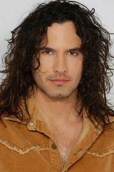 Long wavy hairstyle for men #longhairstylesformen