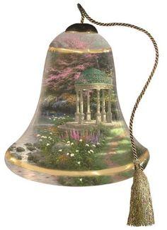 Ne'Qwa Garden of Prayer Hand-Painted Ornament