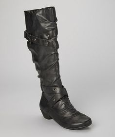 Look what I found on #zulily! Charcoal Nadia Boot by Henri-Pierre #zulilyfinds