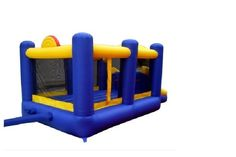 Check out Racing Bounce House  Slide Slam Recreational Inflatable Outdoor Kids Playground   http://www.ebay.com/itm/-/141709828982?roken=cUgayN&soutkn=WR3Gxu
