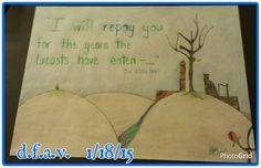 Joel 2:25a N.I.V.  Artist credit d.f.a.v.