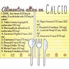 Éstas son algunas fuentes de calcio de origen vegetal, son de mejor calidad que los lácteos,