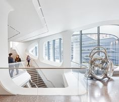 Gallery of Take a 360 Video Tour of Zaha Hadid Architects' New Building on the High Line - 5