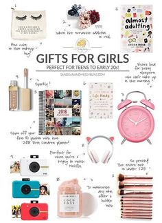 Gift Guide: The Best Gifts for Teen Girls Guia de presentes: os melhores presentes para meninas adolescentes – Christmas Gifts For Teen Girls, Cool Gifts For Teens, Birthday Gifts For Teens, Holiday Gifts, Best Teen Gifts, Christmas List Ideas, Wish List For Teens, Christmas Gifts For 16 Year Olds, Gifts For Tweens