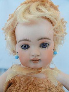 Precious Kestner Wrestler All Bisque Doll 8 1/2 Inches Mold 102