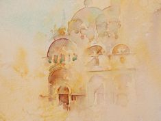 The Magic of Watercolour Painting Virtual Gallery - Jean Haines, Artist - Landscapes Hint of Venice