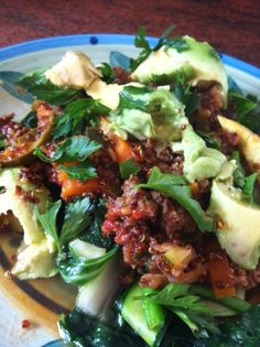Rachel's Corner: Healthy Bolognese Zuchinni Pasta, Zucchini, Raw Food Recipes, Cooking Recipes, Healthy Recipes, Clean Dinners, How To Eat Less, Eating Clean, Bolognese