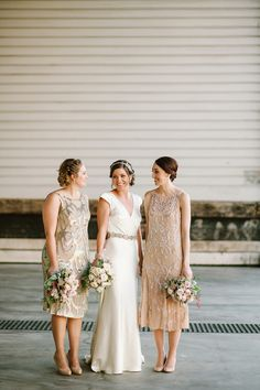 Beautiful Bridesmaids Dresses For Autumn | Photography Tealily Photography