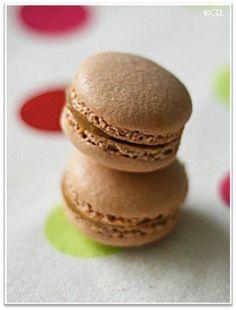 Macarons bicolores à la cerise | Macarons | Pinterest | Mascarpone ...