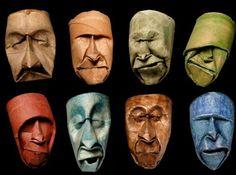 Junior Fritz Jacquet, uno che sa trasformare la carta in sculture dettagliatissime e misteriose allo stesso tempo. Uno che ha deciso di usare la carta meno nobile del mondo per creare maschere di grande effetto. Le maschere che vedete in queste foto non nascono da normale cartoncino, ma dal cartone dei rotoli della carta igienica.