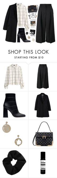 """""""Outfit of the Day"""" by heypandagirl ❤ liked on Polyvore featuring H&M, Erdem, Zara, MANGO, Wasson, RED Valentino, Fujifilm, Topshop, Aesop and Chloé"""