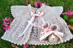 Apple blossom baby outfit