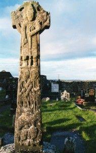 Celtic  high cross at Kilfenora