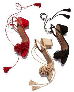 Aquazzura  |  Wild Thing sandals  |  pinterest: @Blancazh