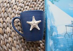 Beach Decor Nautical Ceramic Mug by SEASTYLE by SEASTYLE on Etsy, $9.00