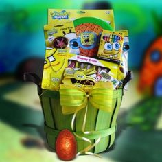 Sponge Bob Easter Gift Baskets