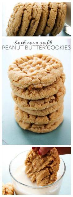 Best Ever Soft Peanut Butter Cookies
