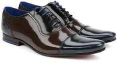 Ted Baker ROGMIX High shine oxford shoes on shopstyle.com.au