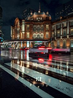 Tokyo Station / I have to go see this. They will still doing the construction the last time I was here. Restoring it to what it looked like when it was first built in the early 20th century.