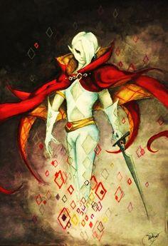 Ghirahim, Zelda Skyward Sword by ~RoseLight1993 on deviantART