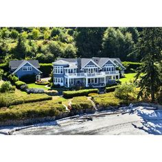 $6.95 million for this gated estate on Bainbridge Island, WA. MLS: 680288