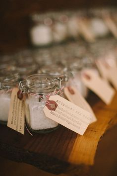 Herb-Infused Sea Salt Wedding Favor | Brides.com