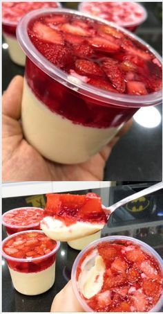 Receitas de Bolo no pote. clique na imagem. Aprenda a Fazer e vender bolo no pote. Descubra agora como ganha até por mês fazendo bolo no pote. Sweet Recipes, Cake Recipes, Dessert Recipes, Dessert Packaging, Dessert Boxes, Good Food, Yummy Food, Vegetarian Recipes Dinner, Easy Desserts