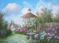 Garden of Angels Dennis Lewan  -  Pinned 8-26-2015.